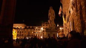 Florenz nachts Lizenzfreies Stockbild
