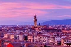 Florenz Palazzo Vecchio Stockfoto