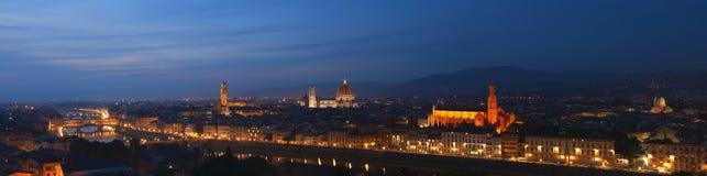 Florenz-Panorama Stockfotos