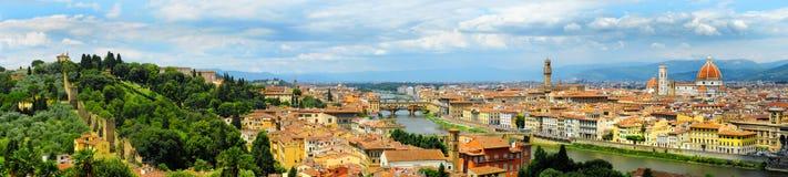 Florenz-Panorama Stockbild