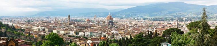 Florenz panoramisch Lizenzfreies Stockbild