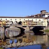 Florenz - Ponte Vecchio Stockfoto