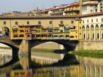 Florenz Ponte Vecchio Stockfotografie