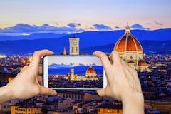 Florenz-` s Kathedrale, Florenz, Italien Lizenzfreie Stockfotografie