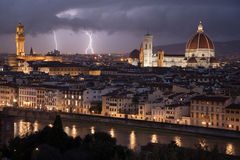 Florenz-Stadtbild, Italien Stockfoto