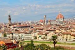 Florenz in Toskana, Italien Stockfotos