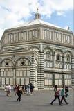 Florenze -意大利的洗礼池 免版税图库摄影