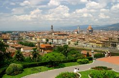 Florenze. City view of florence, Italy Stock Photo