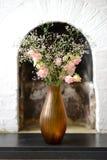 Florero ambarino Imagen de archivo libre de regalías