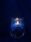 Florero azul Imagen de archivo libre de regalías