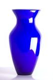 Florero azul Foto de archivo