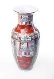 Florero chino fotografía de archivo libre de regalías