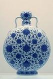 Florero chino de la porcelana Fotografía de archivo