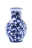 Florero chino de la porcelana Imagenes de archivo