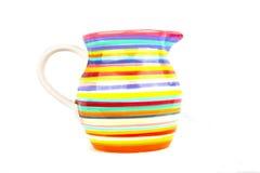 Florero colorido Foto de archivo libre de regalías