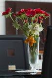 Florero con las amapolas rojas. fotos de archivo libres de regalías