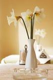 Florero con las flores Fotografía de archivo