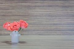 Florero con las flores Foto de archivo libre de regalías
