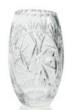 Florero cristalino Imagenes de archivo