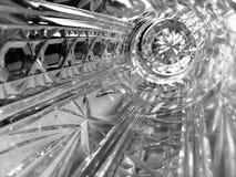 Florero cristalino Foto de archivo libre de regalías