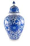 Florero de cerámica, çini Foto de archivo libre de regalías