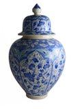 Florero de cerámica, çini Fotos de archivo libres de regalías