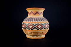 Florero de cerámica Fotos de archivo libres de regalías