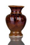 Florero de cerámica Imágenes de archivo libres de regalías