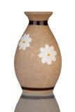 Florero de cerámica Foto de archivo