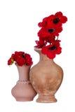 Florero de cerámica Fotos de archivo