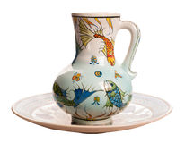 Florero de cerámica Imagenes de archivo