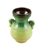 Florero de cerámica aislado Fotografía de archivo libre de regalías