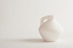 Florero de cerámica Foto de archivo libre de regalías