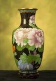 Florero de China Imágenes de archivo libres de regalías