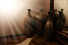 Florero de la cerámica Fotos de archivo