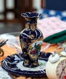 Florero de la porcelana Imagenes de archivo