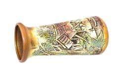 Florero de la porcelana de Borneo. fotografía de archivo libre de regalías
