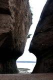 Florero de la roca Foto de archivo
