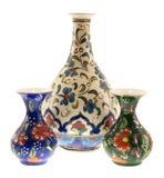 Florero de tres turcos Foto de archivo libre de regalías