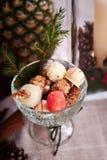 Florero del caramelo Imagen de archivo libre de regalías