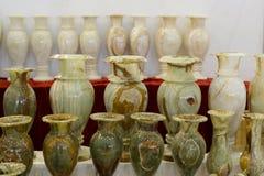 Florero del jade Imágenes de archivo libres de regalías
