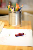 Florero del lápiz foto de archivo