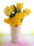 Florero del tulipán fotos de archivo libres de regalías