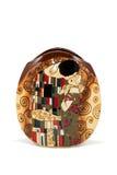 Florero redondo plano Foto de archivo libre de regalías