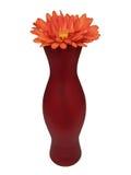 Florero y flor Imágenes de archivo libres de regalías