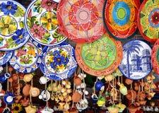 Floreros de cerámica Fotografía de archivo libre de regalías