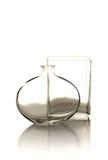 Floreros de cristal Imágenes de archivo libres de regalías