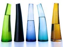 Floreros de cristal Imagenes de archivo