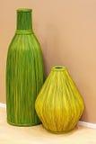 Floreros de lámina Imágenes de archivo libres de regalías