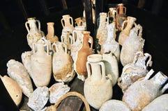 Floreros romanos Imagen de archivo